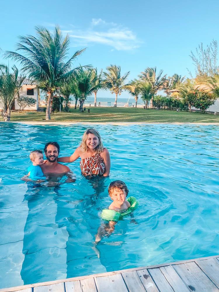 Hotel Vila Selvagem - Fortim - Ceará