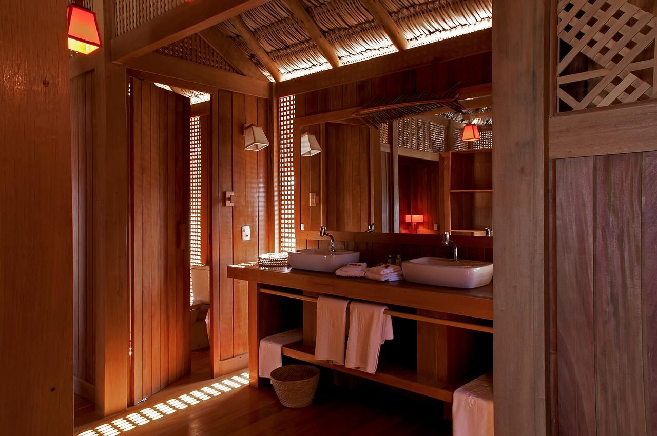 jaguaribe lodge fortim quarto banheiro
