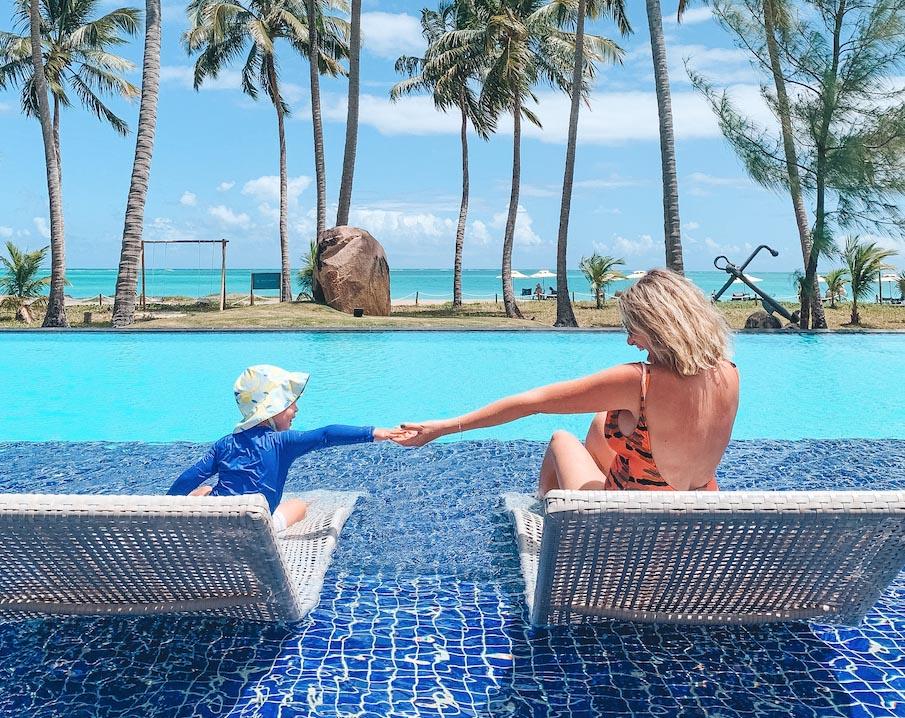 Hoteis charmosos no Brasil para ir com bebe