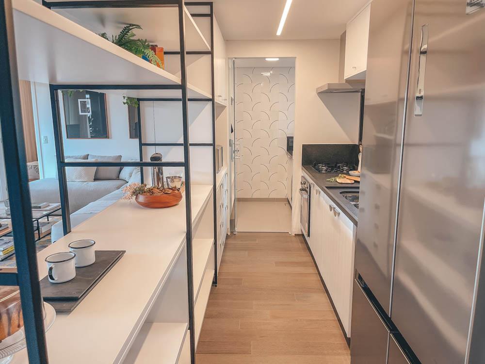 Nido IdeaZarvos - edifício na Vila Ipojuca - São Paulo - apartamento - cozinha integrada