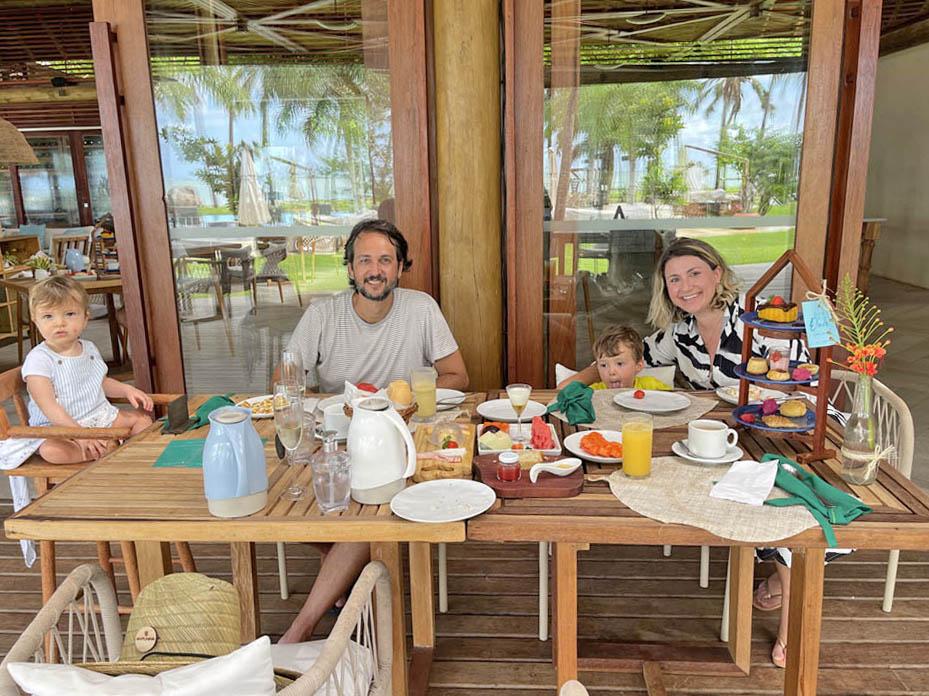 Pousada Anttunina maragogi - café da manhã