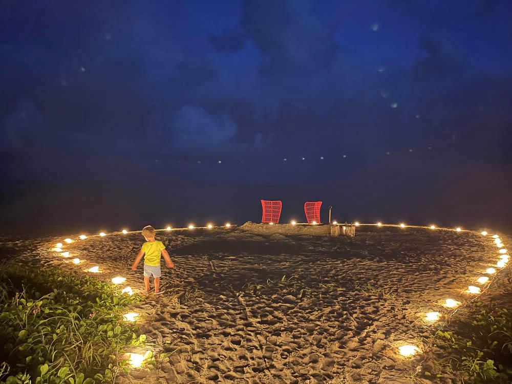 Pousada Anttunina - experiencia jantar na areia da praia
