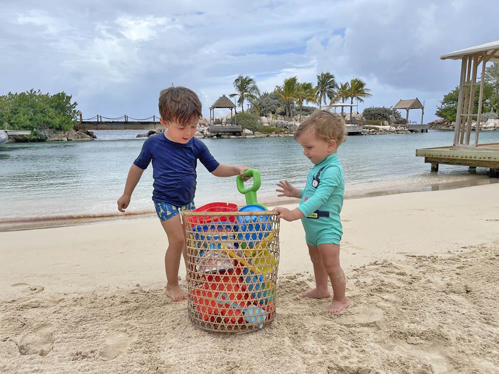 Baoase Luxury Resort Curacao kids friendly