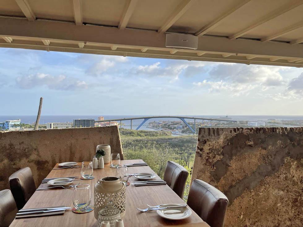 Fort Nassau Restaurant Curaçao