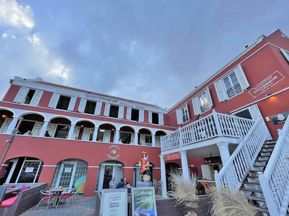 Restaurante Gouverneur em Otrobanda Centrinho curaçao