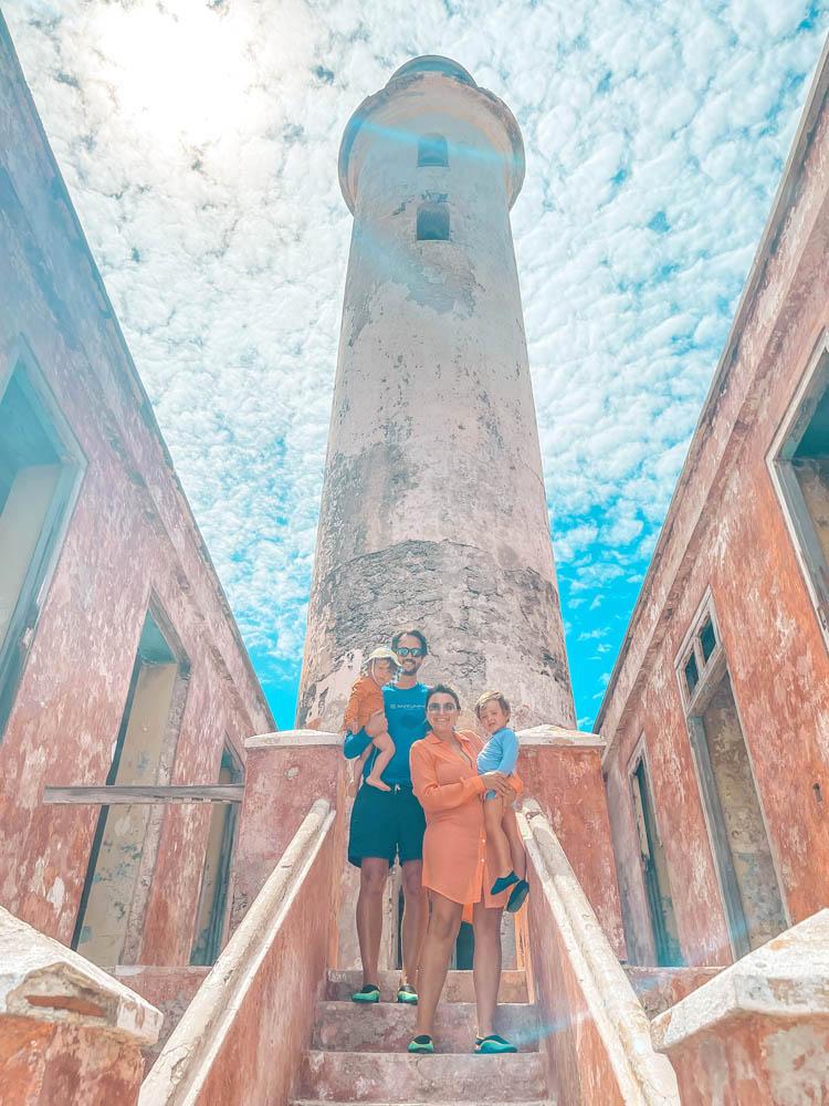 Klein Curaçao lighthouse