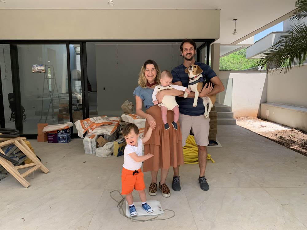 reforma área externa pequena casa