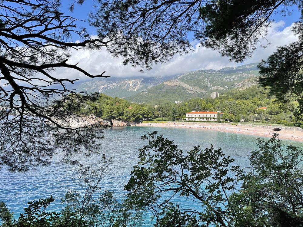 Villa Milocer - queens beach - sveti stefan - montenegro