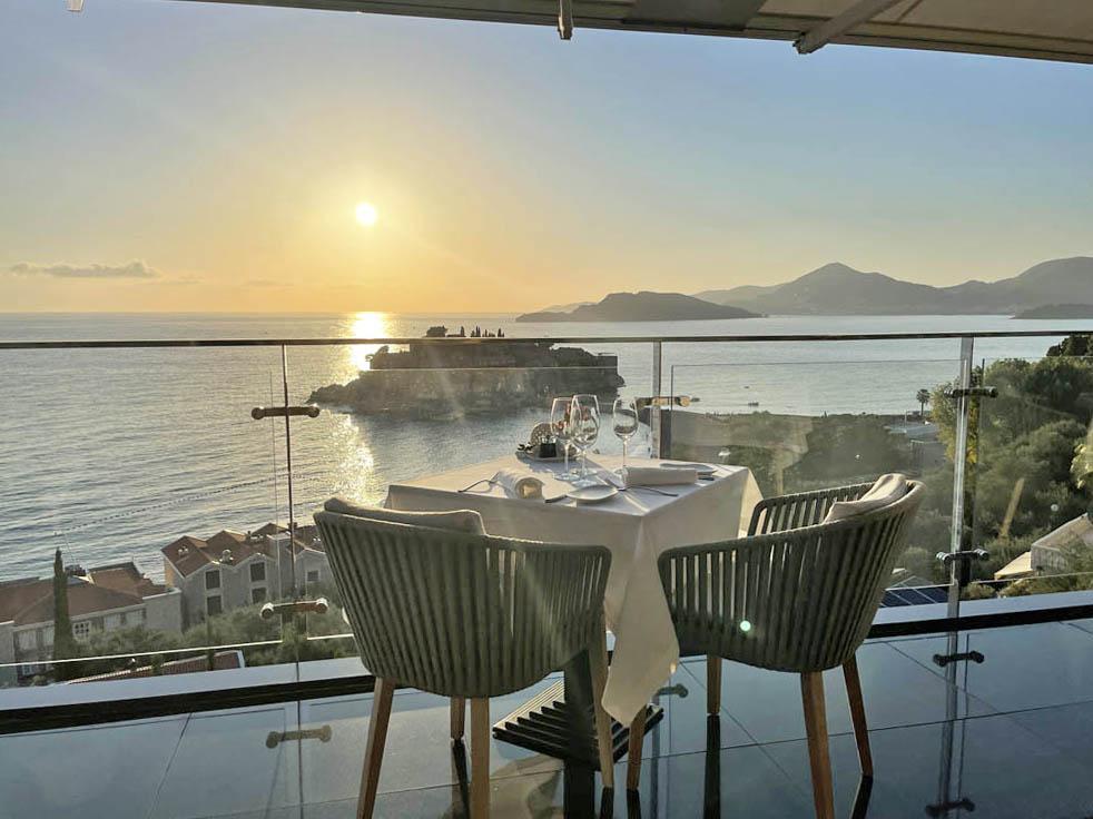 Muse Restaurant - Villa Geba Sveti Stefan Montenegro